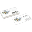Full Color Flat Business Cards - Full color white flat uncoated Business Cards, 14 pt.