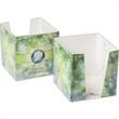 """Post-it (R) Cube Holder - Cube holder with a 18 pt. white low luster C1S fits 2 3/4"""" x 2 3/4"""" Notes."""
