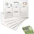 """Full Color Custom Notes - Custom full color 6"""" x 8"""" pads, 50-sheet notes on white stock; low quantity. Post-it (R) Notes"""