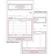 "Snap set statement forms - Snap set 3-part statement forms ( unruled), 5 1/2"" x 7 3/4""."