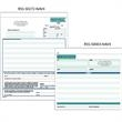 "Snap set proposal forms - Snap set 3-part proposal forms, 8 1/2"" x 11""."