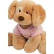 "Gund (R) Stuffed Plush Riley Dog - Stuffed toy dog with overall size 8""."