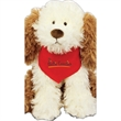 "Gund (R) Crackers Plush Dog - Plush stuffed animal, overall size 11"", sitting size is 8.5"""