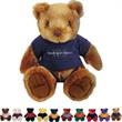 "Chelsea (TM) Knuckles Plush Teddy Bear - Teddy bear with overall size 12"", sitting size 8.5""."