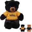 "Chelsea Plush Buster Teddy Bear - Teddy bear with overall size 10""."