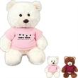 "Chelsea Baxter Plush Toy - 8"" overall size plush stuffed bear."