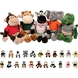 "Plush Wild Bunch Animals - Animal toy, 11""."