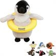"Sea Life Creatures - Stuffed Plush sea life creatures, overall size 8""."