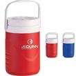 Coleman (R) 1-Gallon Insulated Jug - One gallon wide mouth jug with flip top spout and screw-on cap.