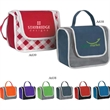 Poly Pro Lunch Box - Polypropylene lunch box with front pocket.