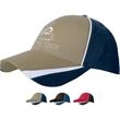 Tri-Color Cap - Structured cotton twill cap.