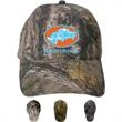 Camo Unstructured cap - Unstructured, brushed cotton cap with camouflage crown.