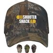 Camo mesh cap - Structured, brushed twill cap with camouflage crown and mesh back.