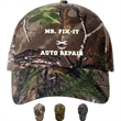 Camo Cap - Structured, brushed cotton twill camouflage cap.