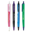 Bic® Tri-Stic® - Three sided ballpoint pen with pocket clip. 3 sides, in 3 different colors!