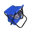Folding Beach Chair with Cooler Bag - Folding beach chair with cooler bag.