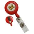 Red Round Badge Reels