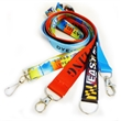 Low Minimum Full color Dye Sublimation Lanyards