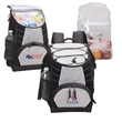 COOLER BACKPACK - Cooler backpack, padded with PEVA lining, comes with PVC liner for easy cleaning.