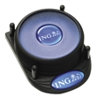 Orbit Coaster with N-Dome™ - Set of 4 with Base - Coaster set packed in 4-pieces with base.