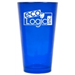 16 oz. Sapphire Blue Colored Party Pint Mixing Glass - Imprinted colored mixing glasses are perfect for employee appreciation gifts and business marketing.