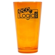 16 oz. Citrine Orange Party Pint Mixing Glass - Imprinted colored mixing glasses are perfect for employee appreciation gifts and business marketing.