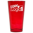 16 oz. Ruby Red Colored Party Pint Mixing Glass - Imprinted colored mixing glasses are perfect for employee appreciation gifts and business marketing.