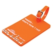 Soft PVC 2D Luggage Tags
