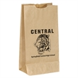 Popcorn Bag-Brown
