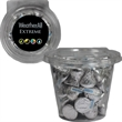 Round Safe-T Fresh Container With Hershey Kisses Candy