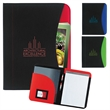 Non-Woven Curve Padfolio - Non-Woven Curve Padfolio with front slip pocket.