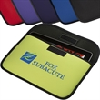 Econo Tablet Envelope - Polyester foam iPad(R) / tablet sleeve with polyester piping trim.
