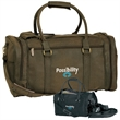 Kodiak Duffel - Kodiak Duffel. Double zipper entry into roomy main compartment,zippered side shoe compartment. Adjustable/removable shoulder strap