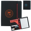 Hype Padfolio - Hype Padfolio with elastic closure on main body.