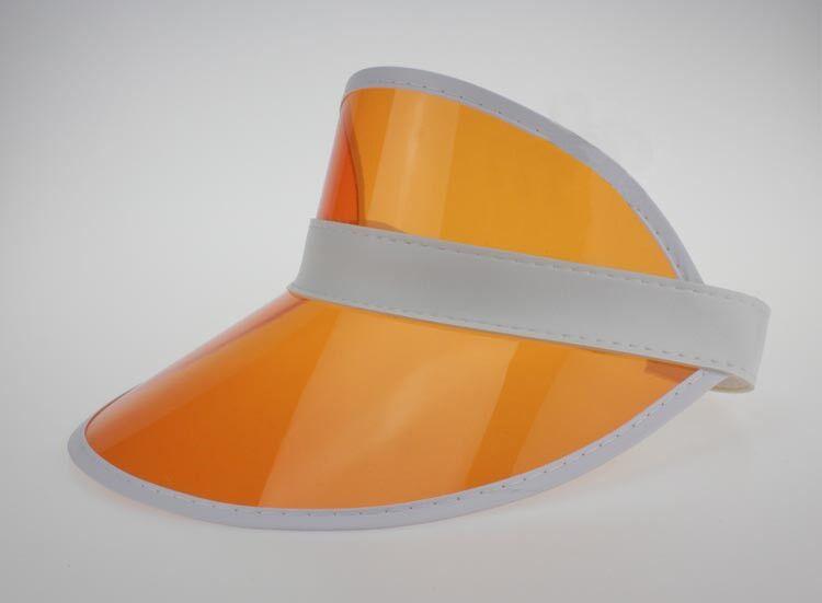Clear PVC Dealer Poker Sun Visor