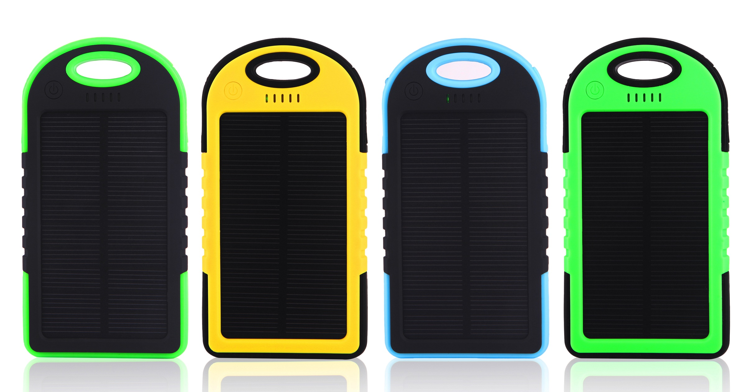 4000mAh Solar Power Bank Waterproof/Shockproof/Dustproof