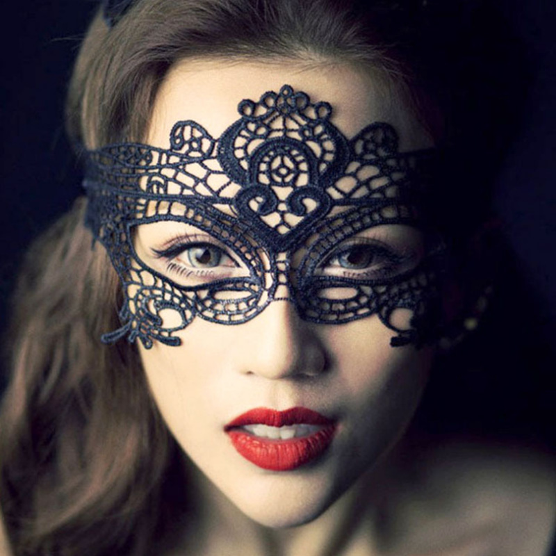 Holloween Costume Party Mask Ladies' Lace Mask