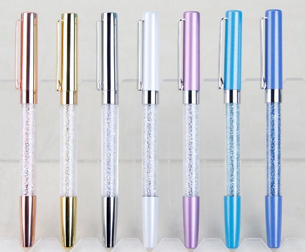 Pastel Crystal Stylus Ballpoint Pen