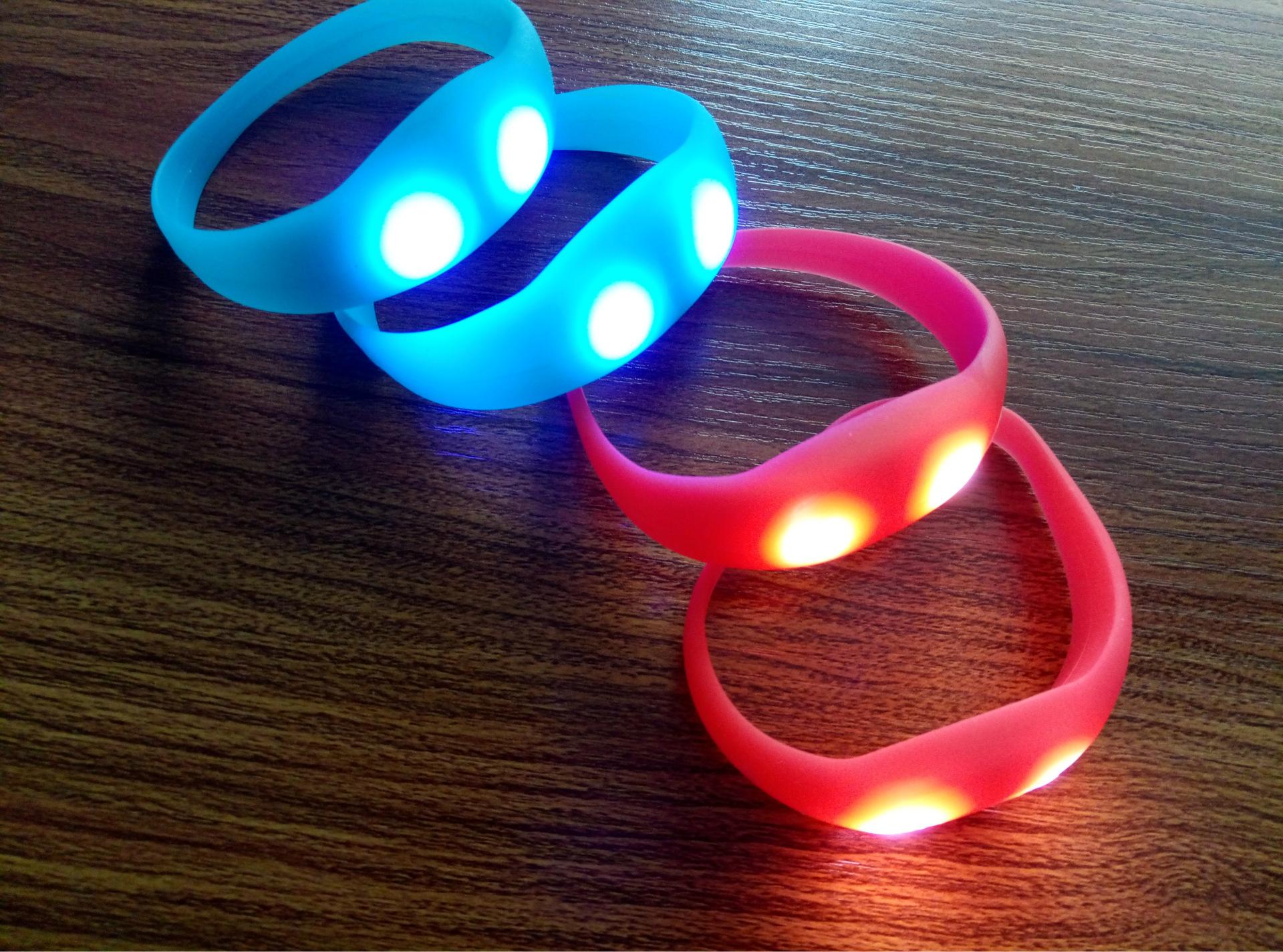 LED Stretchy Bangle Bracelets