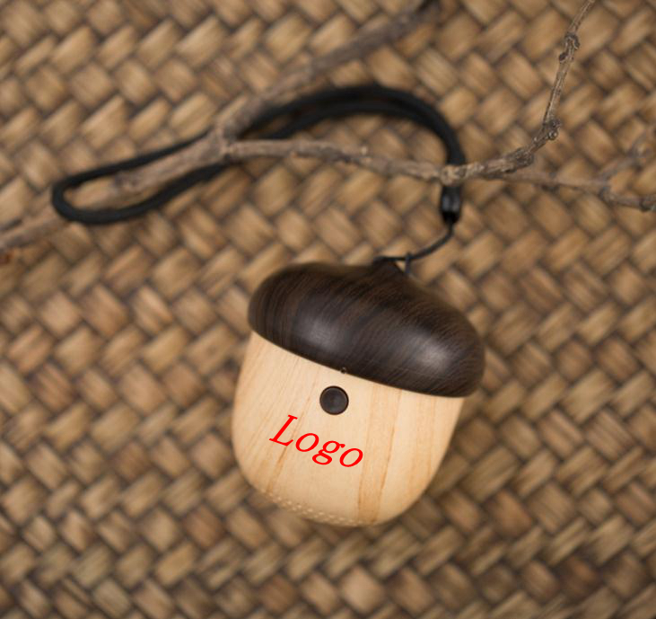 Outdoor Portable Nut Shaped Mini Wireless Bluetooth Speaker