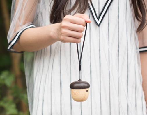 Outdoor Portable Nut Shaped Mini Wireless Bluetooth Speaker