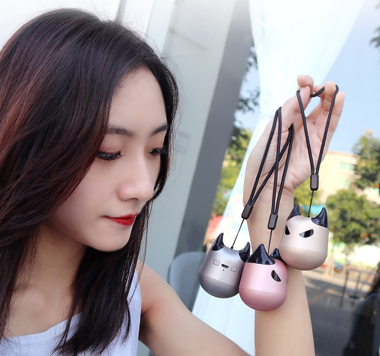 Cute Demon Outdoor Handsfree Wireless Mini Bluetooth Speaker