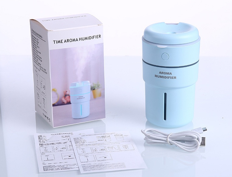 Mini Ultrasonic USB Anti Dry Design Air Aroma Humidifier