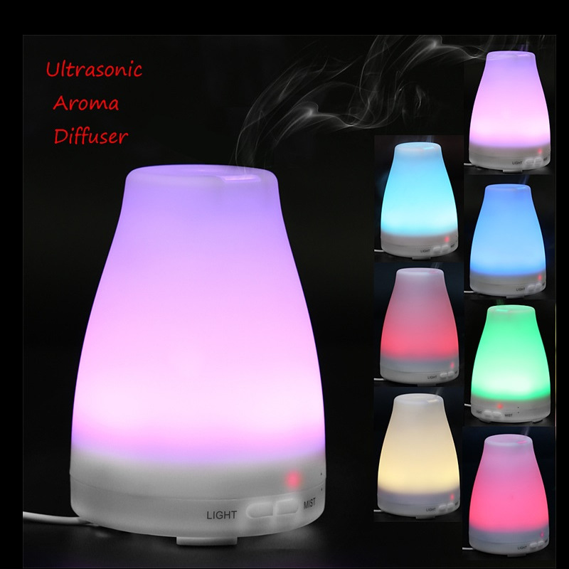 Air Aroma Humidifier With Changing 7 Color LED Lights
