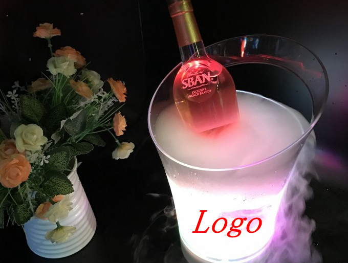 Large Capacity 7 Colors Changing LED Ice Bucket