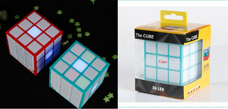 Cute Mini Puzzle Cube Wireless Bluetooth Speaker