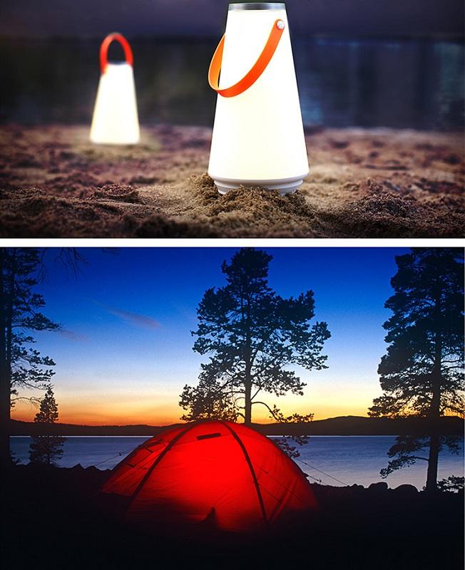 LED Outdoor Indoor Hand Lamp Night Light