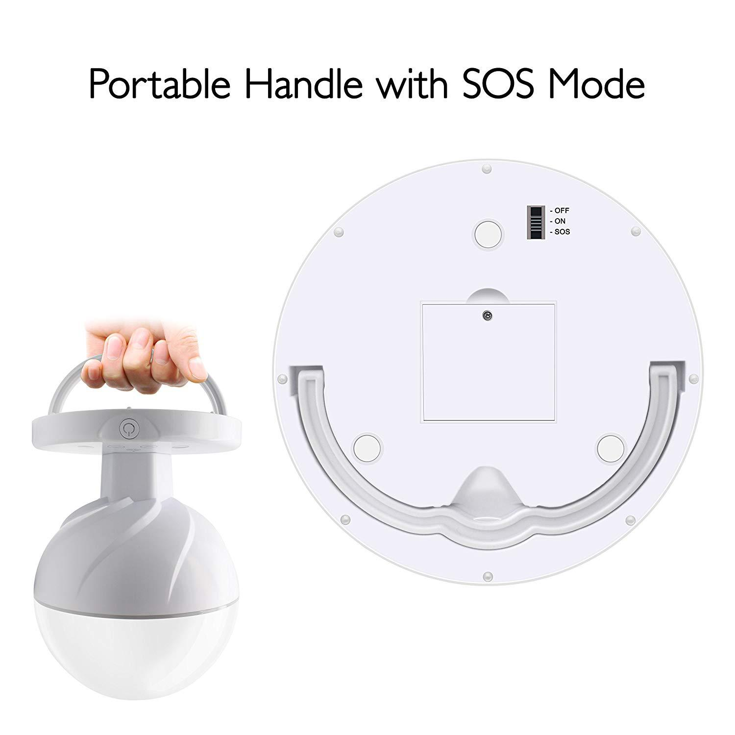 LED USB Charging Hand With SOS Mode Night Light