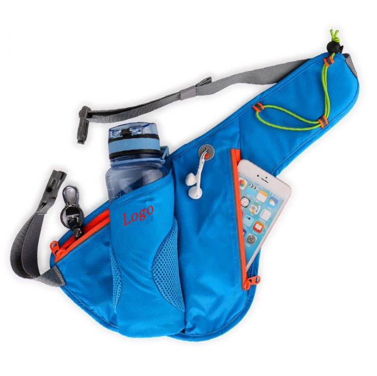 Bottle Holder Nylon Water Resistant Sport Running Waist Bag