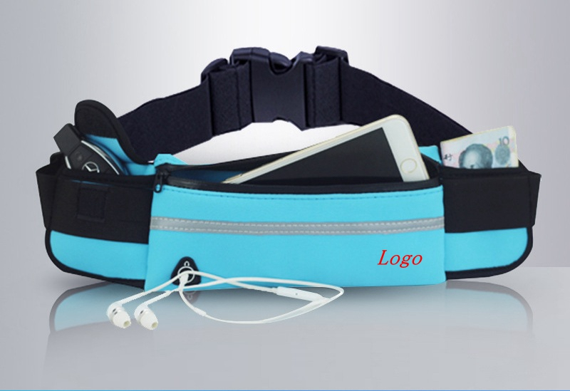 Fanny Fitness Belt Water Resistant Sport Running Waist Bag